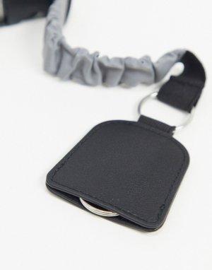 Брелок для ключей на шнурке -Черный ASOS DESIGN