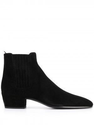 Ботинки челси Wyatt Saint Laurent. Цвет: черный