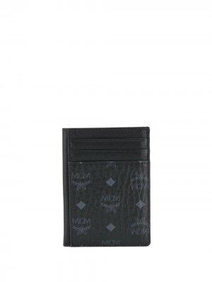Картхолдер N/S Klassik с монограммой MCM. Цвет: черный