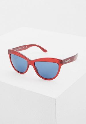 Очки солнцезащитные Burberry BE4267 349580. Цвет: красный