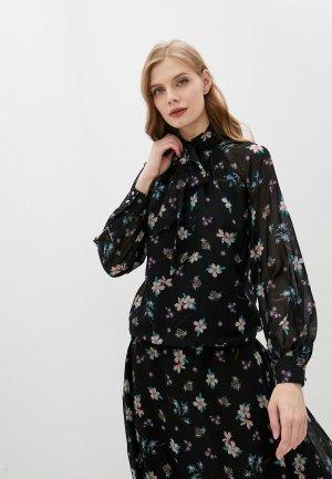 Блуза Belucci. Цвет: черный