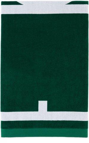 Green Tennis Club Towel Casablanca. Цвет: white/green