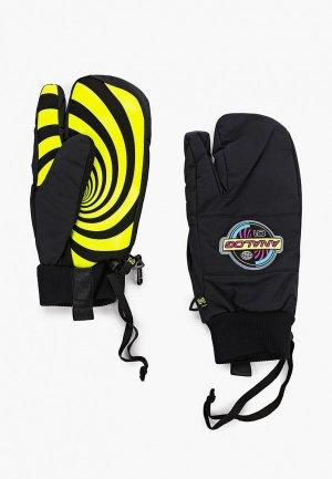 Варежки горнолыжные Analog AG BARTLETT MTT. Цвет: черный