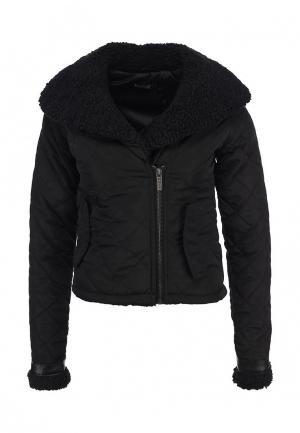Куртка утепленная Camelot. Цвет: черный