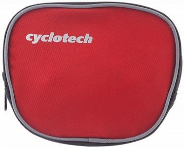 Велосипедная сумка Cyclotech. Цвет: красный