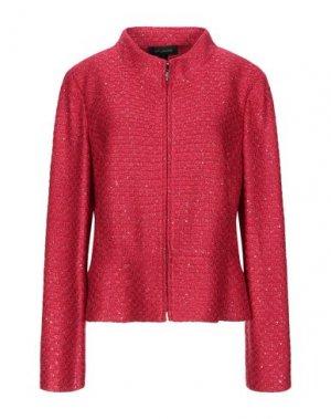 Пиджак ST. JOHN. Цвет: красный