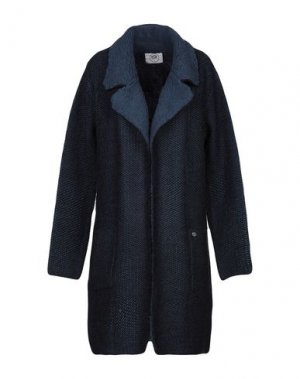 Легкое пальто BSB. Цвет: темно-синий