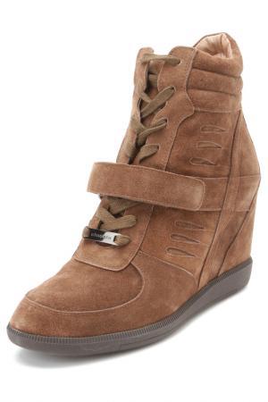 Ботинки ELMONTE. Цвет: коричневый