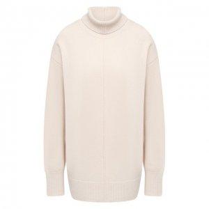 Шерстяной свитер Joseph. Цвет: бежевый