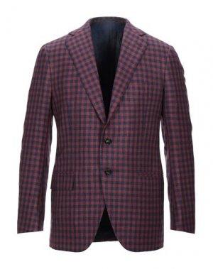 Пиджак CESARE ATTOLINI. Цвет: темно-синий