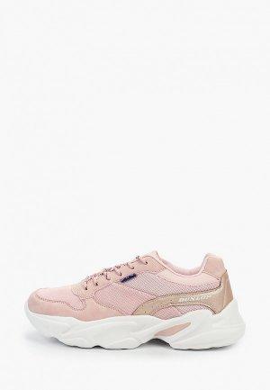 Кроссовки Dunlop. Цвет: розовый