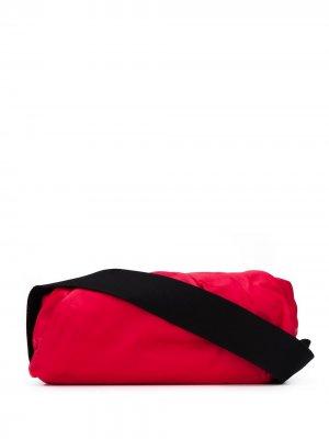 Сумка через плечо Body Pouch Bottega Veneta. Цвет: красный