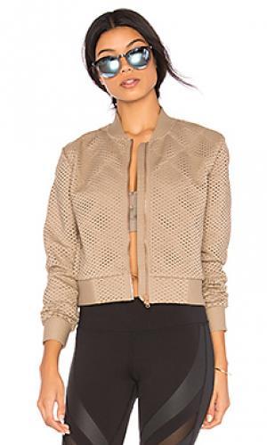Куртка mytyh alo. Цвет: серо-коричневый