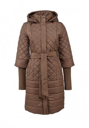 Куртка утепленная Lawine. Цвет: бежевый