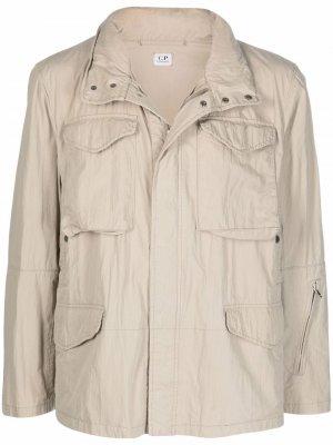 Легкая куртка 1990-х годов с капюшоном C.P. Company Pre-Owned. Цвет: нейтральные цвета