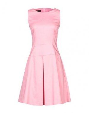 Короткое платье GIO' GUERRERI. Цвет: розовый