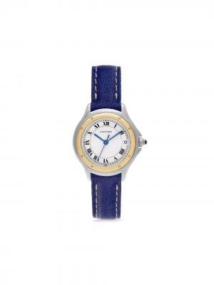 Наручные часы Cougar pre-owned 26 мм 2005-го года Cartier. Цвет: нейтральные цвета
