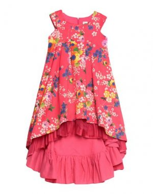 Платье JUNIOR GAULTIER. Цвет: коралловый
