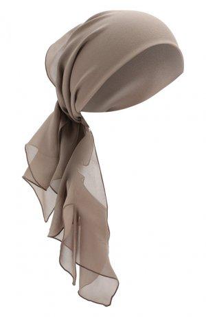 Шелковая повязка на голову Tom Ford. Цвет: сиреневый