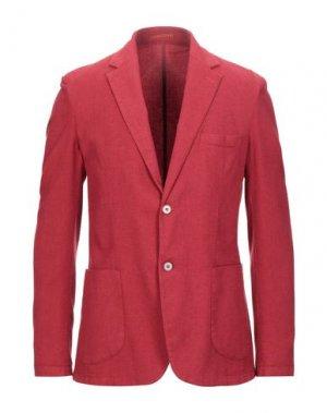 Пиджак ALESSANDRO GILLES. Цвет: красный