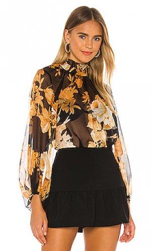 Блузка henrietta Shona Joy. Цвет: черный