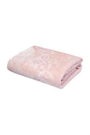 Покрывало-плед 105х215 CASABEL. Цвет: розово-бежевый