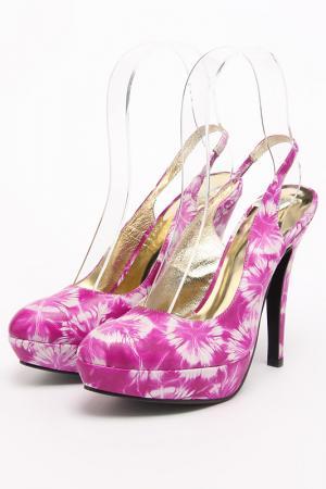 Туфли летние открытые Lena Milan. Цвет: белый
