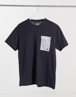 Черная футболка Lomma-Черный Helly Hansen