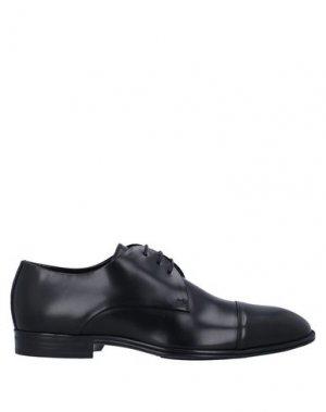 Обувь на шнурках CORVARI. Цвет: черный