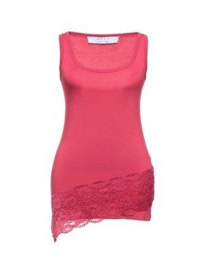 Короткое платье KAOS. Цвет: пурпурный