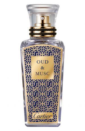Духи Oud & Musc Cartier. Цвет: бесцветный