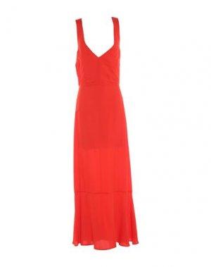 Длинное платье ATTIC AND BARN. Цвет: красный