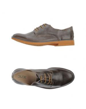 Обувь на шнурках DUDE. Цвет: какао