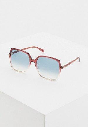 Очки солнцезащитные Gucci GG0544S 005. Цвет: бордовый