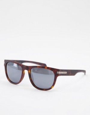 Квадратные солнцезащитные очки -Коричневый цвет Polaroid