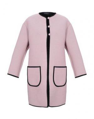 Легкое пальто ANDREA TURCHI. Цвет: пастельно-розовый