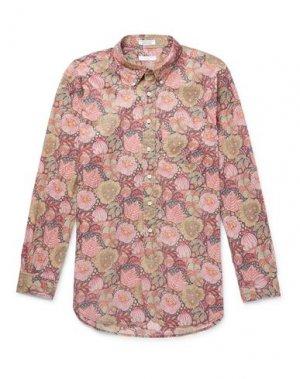 Pубашка ENGINEERED GARMENTS. Цвет: пастельно-розовый