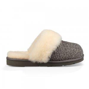 Cozy Knit Slipper Women UGG. Цвет: серый