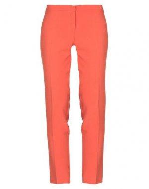 Повседневные брюки DANIELA DREI. Цвет: оранжевый
