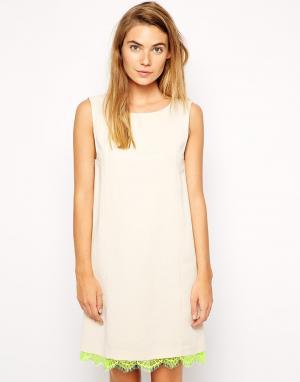 Платье Marianna American Retro. Цвет: слоновая кость