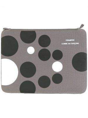 Сумка для ноутбука Côte&Ciel MacBook Air 13 Comme Des Garçons Wallet. Цвет: серый