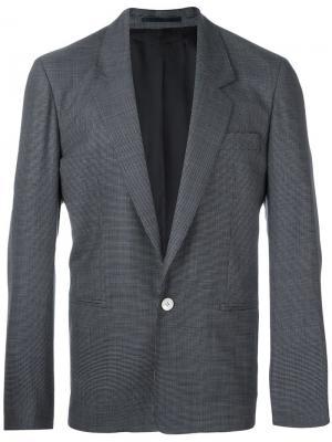 Пиджак с застежкой на пуговицу E. Tautz. Цвет: синий