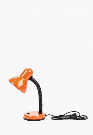 Светильник настольный Camelion. Цвет: оранжевый