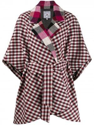 Patchwork cape coat Tommy Hilfiger. Цвет: красный