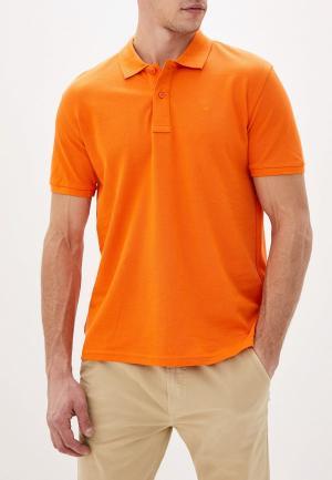 Поло Celio. Цвет: оранжевый