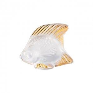 Статуэтка Fish Lalique. Цвет: прозрачный
