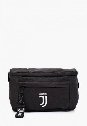 Сумка поясная Atributika & Club™ FC Juventus. Цвет: черный