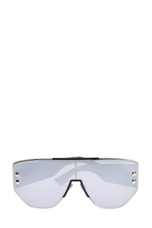 Очки-маска DiorAddict с массивными дужками DIOR (sunglasses) women. Цвет: черный