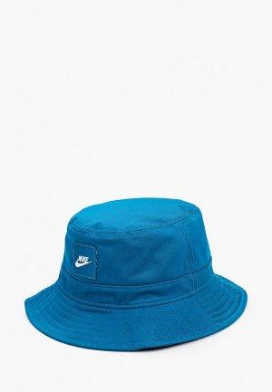 Панама Nike Y NK BUCKET CORE. Цвет: синий