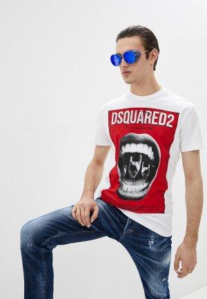 Футболка Dsquared2. Цвет: белый